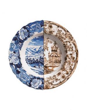 Блюдо SELETTI. Цвет: синий