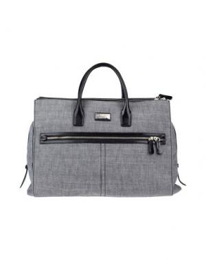 Дорожная сумка DSQUARED2. Цвет: серый