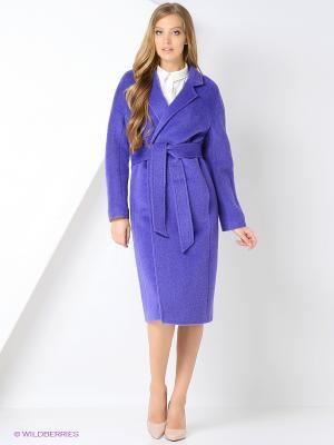 Пальто Exalta. Цвет: фиолетовый