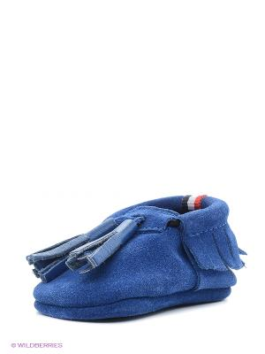 Пинетки U.S. Polo Assn.. Цвет: голубой