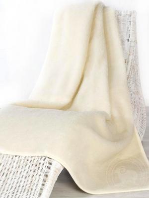 Пледтумблерhit160х200/ ALWERO. Цвет: белый