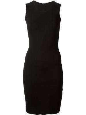 Вязаное платье Ann Demeulemeester. Цвет: чёрный