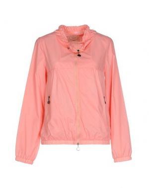 Куртка EMMA&GAIA. Цвет: розовый