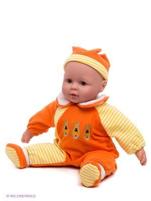 Игрушка интерактивная Кукла Mami. Цвет: оранжевый, желтый