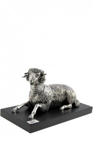 Скульптура Овен Tsar. Цвет: серебряный