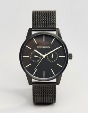 UNKNOWN Черные часы 39 мм. Цвет: черный