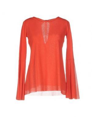 Блузка FUZZI. Цвет: красный