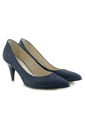 Туфли на каблуке BOSCCOLO. Цвет: синий