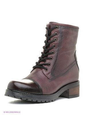 Ботинки Atiker. Цвет: бордовый