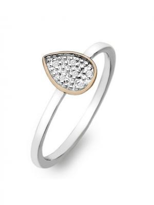 Кольцо HOT DIAMONDS. Цвет: серебристый