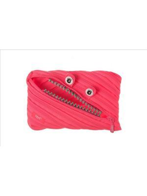 Пенал-сумочка GRILLZ JUMBO POUCH, цвет розовый ZIPIT. Цвет: розовый