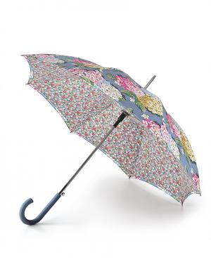 Зонт-трость автомат Цветы  by Fulton Cath Kidston. Цвет: без цвета
