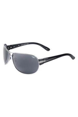Солнцезащитные очки Legna. Цвет: темно-серый, черный