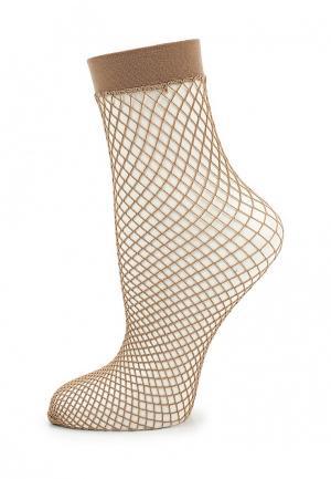 Носки Baon. Цвет: коричневый