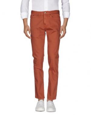 Джинсовые брюки TIMBERLAND. Цвет: ржаво-коричневый