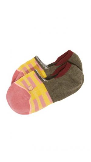 Невидимые под обувью носки Jack Line STANCE. Цвет: розовый