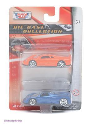 Игровой набор Volkswagen NardoW12 и Pagani Zonda C12 Motormax. Цвет: красный