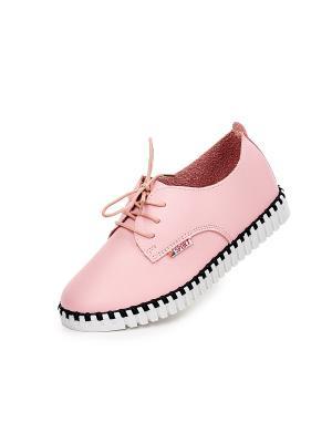 Слипоны Best&Best. Цвет: розовый