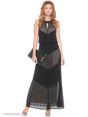 Платье London Times. Цвет: черный