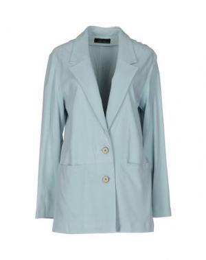 Пиджак LES SOEURS. Цвет: небесно-голубой