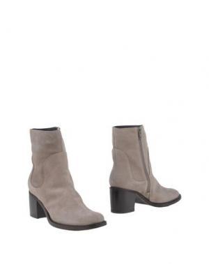 Полусапоги и высокие ботинки SGN GIANCARLO PAOLI. Цвет: серый