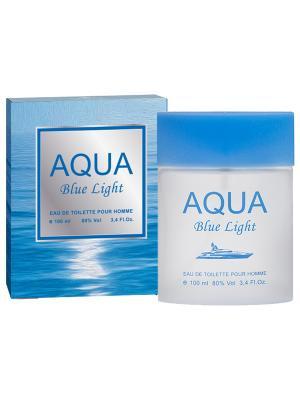 Туалетная вода Aqua Blue light (Аква блю лайт) муж. 100мл APPLE PARFUMS. Цвет: прозрачный