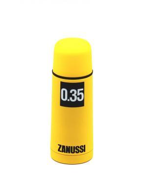 Термос желтый 0,35 л Zanussi. Цвет: желтый
