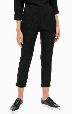 Черные капри с кружевом Juicy by Couture. Цвет: черный