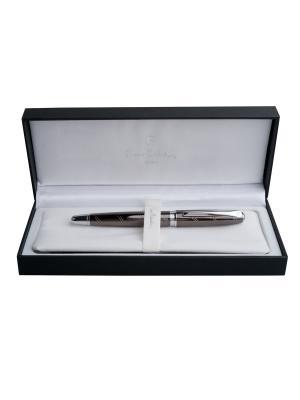 Ручка Pierre Cardin. Цвет: серебристый, коричневый