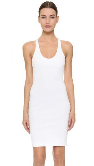 Платье без рукавов DSQUARED2. Цвет: белый