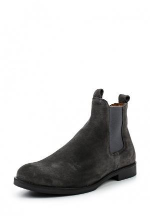 Ботинки Zign. Цвет: серый