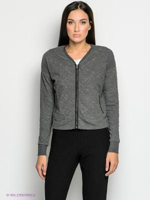Блейзер Vero moda. Цвет: темно-серый
