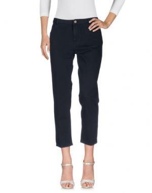Джинсовые брюки PENCE. Цвет: темно-синий