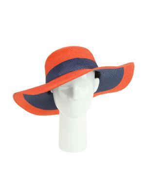 Шляпа Moltini. Цвет: коралловый