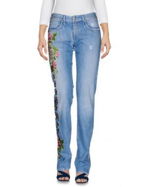 Джинсовые брюки MANUEL LUCIANO. Цвет: синий