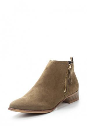 Ботинки Dorothy Perkins. Цвет: хаки