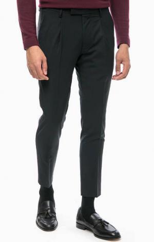 Базовые зауженные брюки Cinque. Цвет: черный