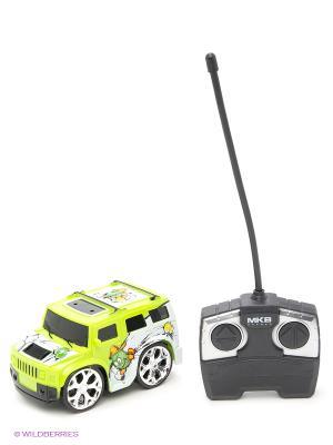 Машинка на радиоуправлении Mini, зеленая Blue Sea. Цвет: зеленый