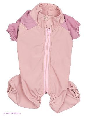 Комбинезон холодный на шелке (Шпиц), девочка ТУЗИК. Цвет: розовый