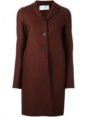 Классическое пальто Harris Wharf London. Цвет: коричневый