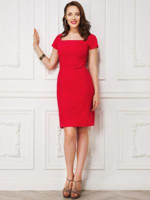 Платье La vida rica. Цвет: красный