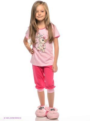 Пижама Vienetta Secret. Цвет: бледно-розовый, розовый