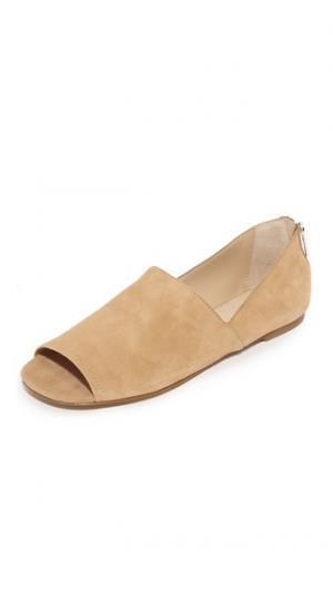 Обувь на плоской подошве Maxine Botkier. Цвет: бежевый