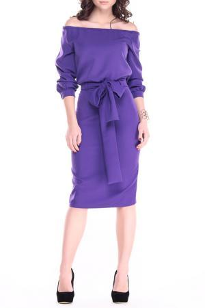 Платье REBECCA TATTI. Цвет: фиолетовый