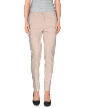 Повседневные брюки KATE. Цвет: слоновая кость