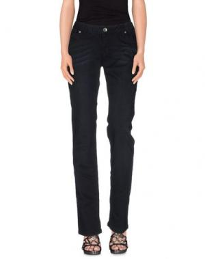 Джинсовые брюки SOCCX. Цвет: черный