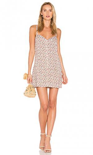 Платье six A Fine Line. Цвет: розовый