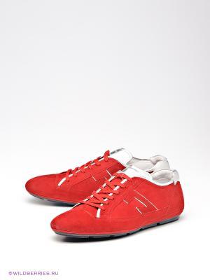 Кроссовки Calipso. Цвет: красный