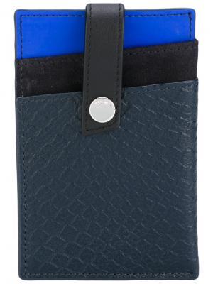 Бумажник с клипсой Kennedy Want Les Essentiels De La Vie. Цвет: синий