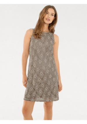 Платье B.C. BEST CONNECTIONS by Heine. Цвет: дымчато-синий, серо-коричневый